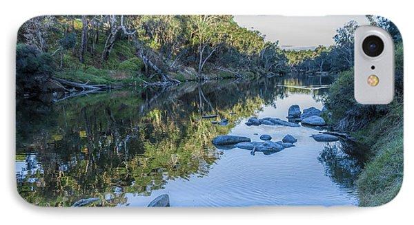 Blackwood River Rocks, Bridgetown, Western Australia IPhone Case by Elaine Teague