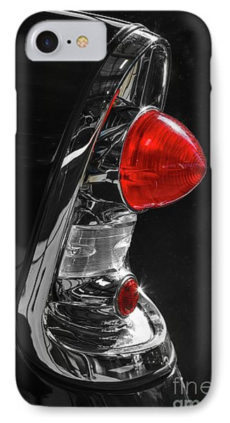IPhone Case featuring the photograph Black '56 by Dennis Hedberg