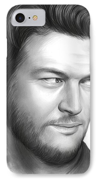 Blake Shelton IPhone Case