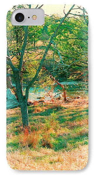 Blanco River Texas IPhone Case