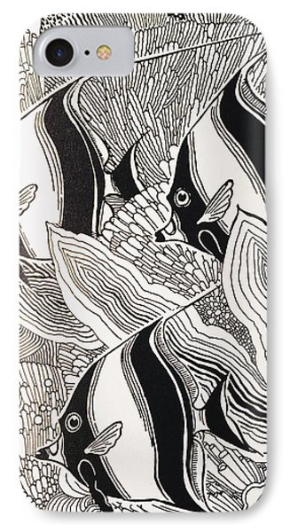 Blandings Angelfish IPhone Case by Hawaiian Legacy Archive - Printscapes