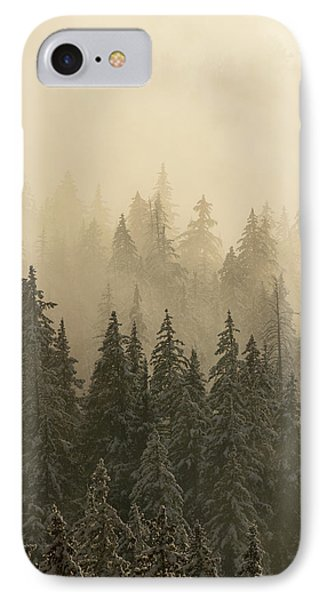IPhone Case featuring the photograph Blanket Of Back-lit Fog by Dustin LeFevre