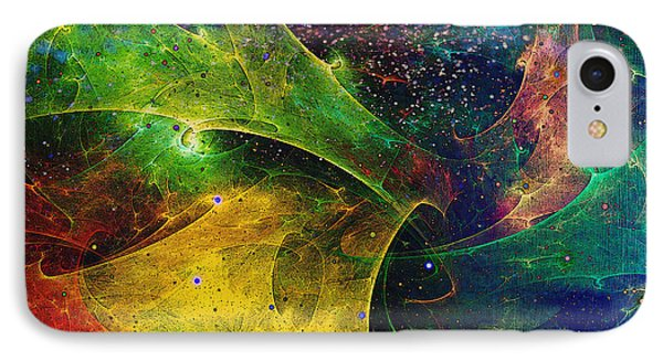 IPhone Case featuring the digital art Blanket Of Stars by Klara Acel