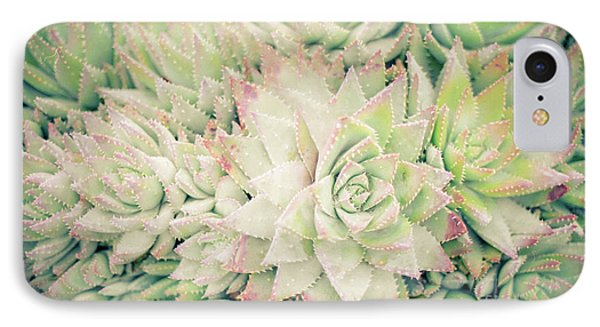 IPhone Case featuring the photograph Blanket Of Succulents by Ana V Ramirez