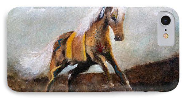 Blanket The War Pony IPhone Case by Barbie Batson