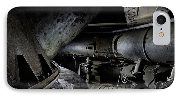 IPhone Case featuring the photograph Blast Furnace Piping by Dirk Ercken