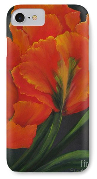 Blaze Of Glory IPhone Case by Carol Sweetwood