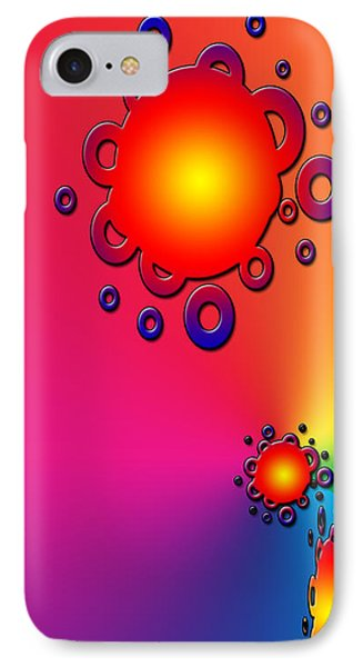 Blazing Colors Abstract IPhone Case