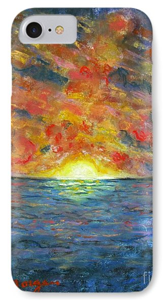 Blazing Glory IPhone Case by Laurie Morgan