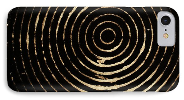 Bleached Circles Phone Case by Cynthia Powell
