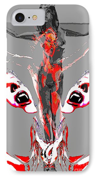Bled For Life IPhone Case by Tbone Oliver