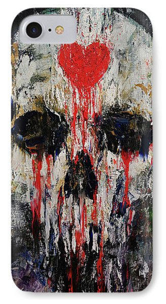 Bleeding Heart IPhone Case by Michael Creese