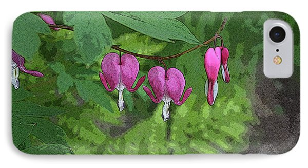 Bleeding Hearts 2 IPhone Case