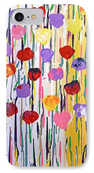 Bleeding Tulips IPhone Case