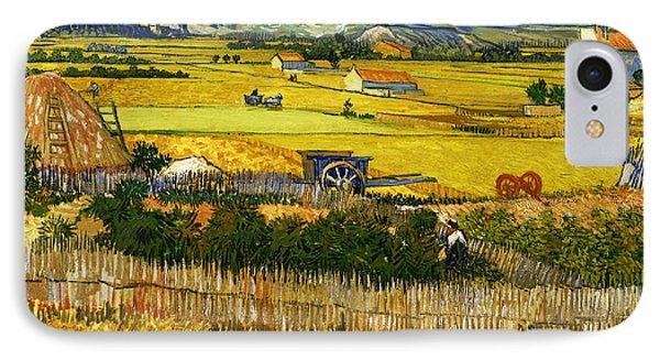 Blend 17 Van Gogh IPhone Case by David Bridburg