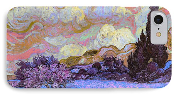 Blend 20 Van Gogh IPhone Case by David Bridburg