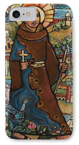Blessed Junipero Serra IPhone Case by Jen Norton