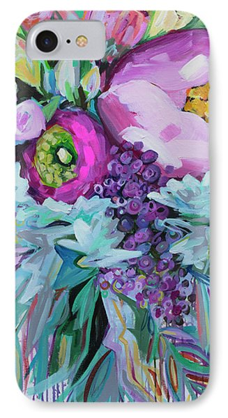 Blessings Come From Raindrops IPhone Case by Kristin Whitney