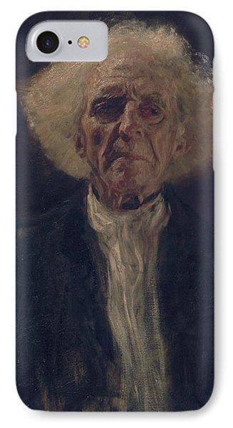 Blind Man IPhone Case by Gustav Klimt