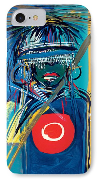 Blind To Culture Phone Case by Oglafa Ebitari Perrin