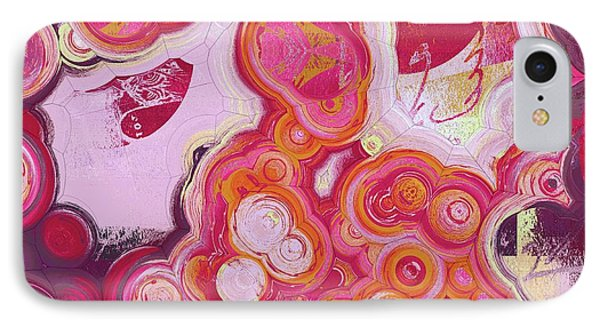 IPhone Case featuring the digital art Blobs - 03v2c7b by Variance Collections