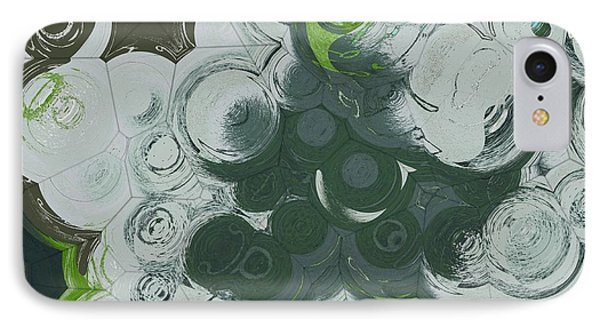 IPhone Case featuring the digital art Blobs - 13c9b by Variance Collections