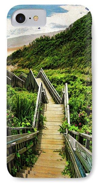 Nature iPhone 7 Case - Block Island by Lourry Legarde