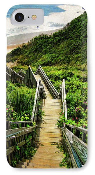 Landscapes iPhone 7 Case - Block Island by Lourry Legarde