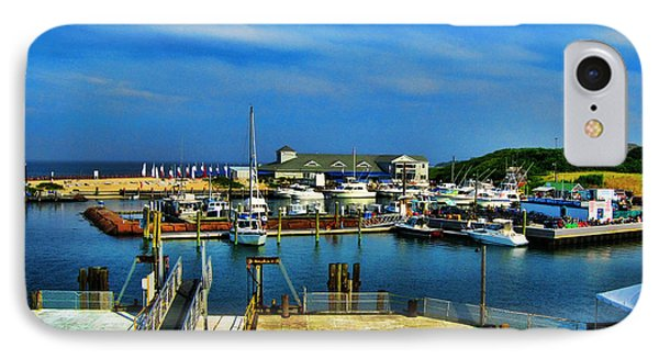 Block Island Marina Phone Case by Lourry Legarde
