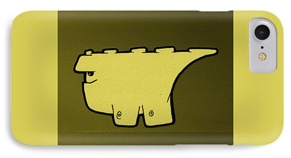 Blockasaurus IPhone Case by Uncle J's Monsters
