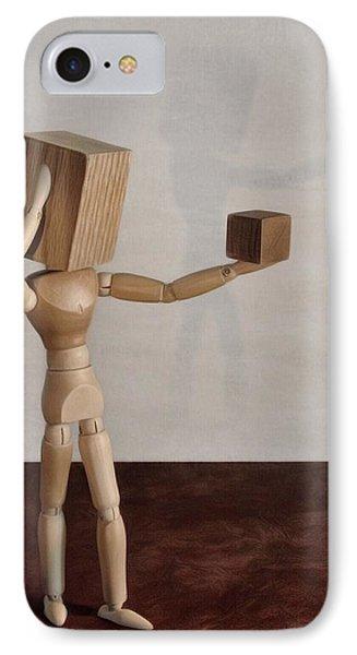Blockhead IPhone Case by Mark Fuller