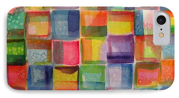 Blocks II IPhone Case by Holly York