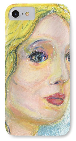 Blond  Phone Case by Derrick Hayes