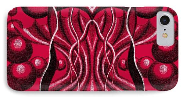 Blood Altar. IPhone Case