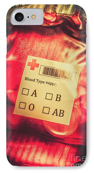 Blood Donation Bag IPhone Case