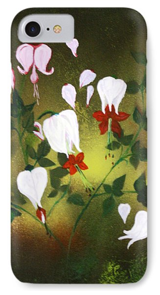 Blood Flower IPhone Case by Tbone Oliver