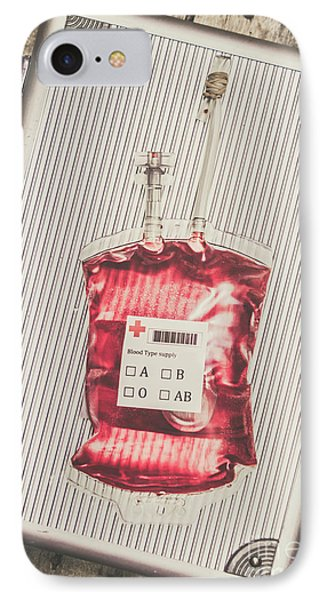 Blood Infusion Medical Kit IPhone Case