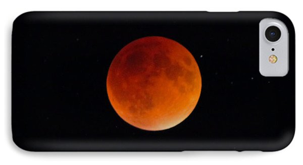 Blood Moon 2 IPhone Case by Cathie Douglas