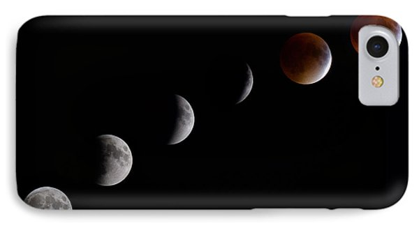 Blood Moon Lunar Eclipse IPhone Case