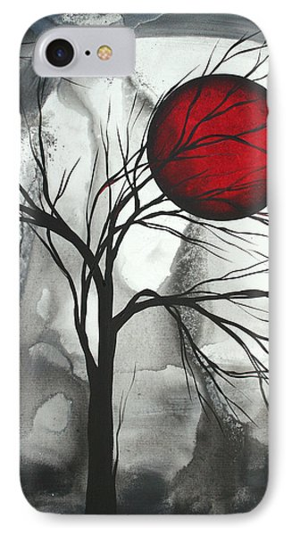 Blood Of The Moon 2 By Madart Phone Case by Megan Duncanson