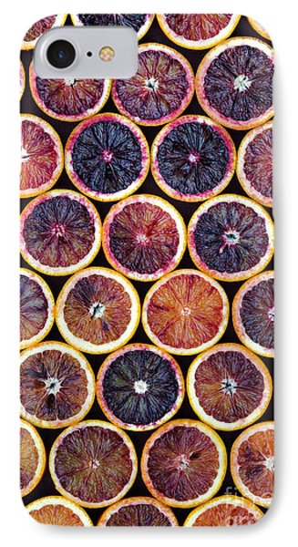 Blood Oranges Pattern IPhone Case by Tim Gainey