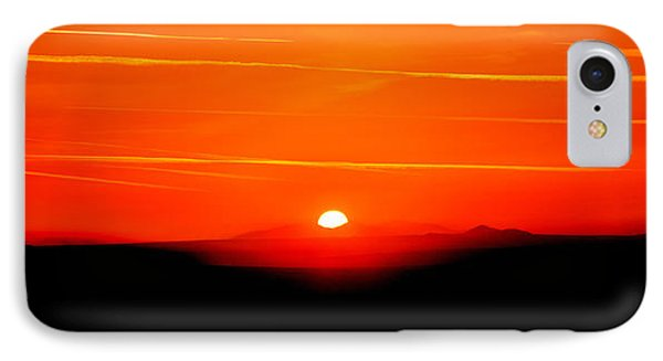 Blood Red Sunset IPhone Case by Az Jackson