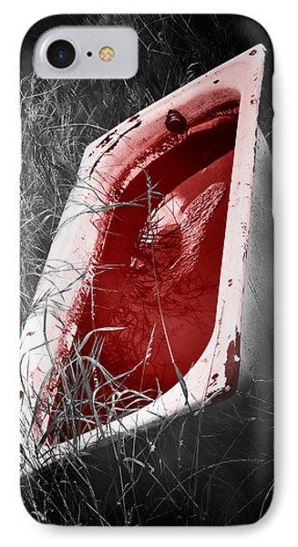 Bloody Bathtub IPhone Case by Wim Lanclus