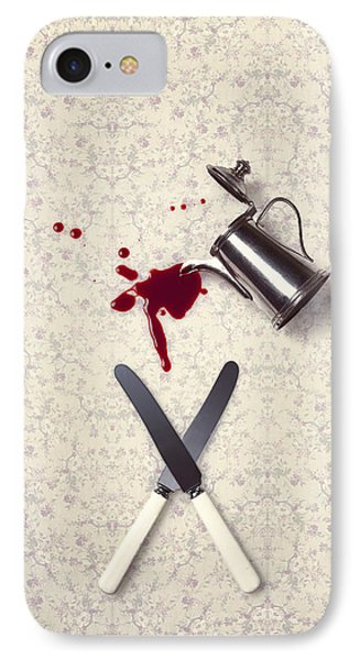 Bloody Dining Table IPhone Case