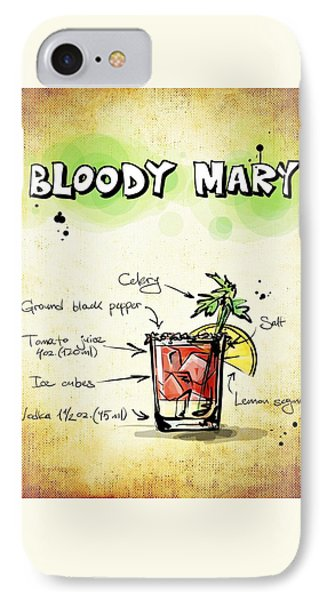 Bloody Mary iPhone 7 Case - Bloody Mary by Movie Poster Prints