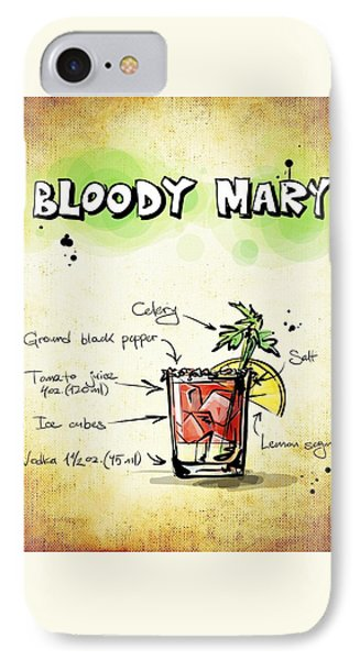 Bloody Mary IPhone Case by Movie Poster Prints