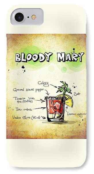 Bloody Mary IPhone 7 Case by Movie Poster Prints