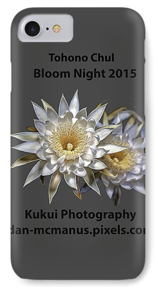 IPhone Case featuring the photograph Bloom Night T Shirt by Dan McManus