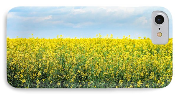IPhone Case featuring the photograph Blooming Canola - Photography by Ann Powell