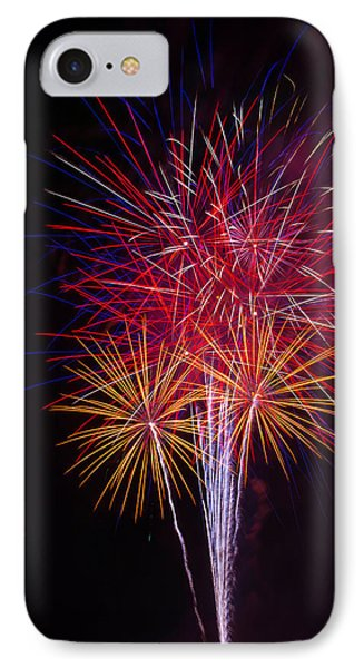 Blooming Fireworks IPhone Case by Garry Gay